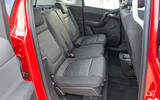 Vauxhall Meriva rear seats