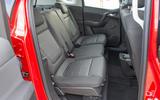 Vauxhall Meriva rear seats