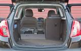 The flexible seating in the Vauxhall Mokka