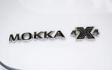Vauxhall Mokka X badging