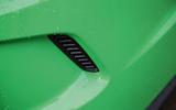 Vauxhall VXR8 GTS-R brake duct