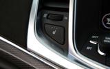 Vauxhall VXR8 GTS-R heated seats button