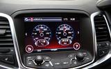 Vauxhall VXR8 GTS-R infotainment system