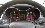 Vauxhall VXR8 GTS-R instrument cluster