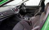 Vauxhall VXR8 GTS-R interior
