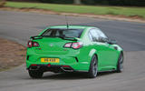 Vauxhall VXR8 GTS-R rear cornering