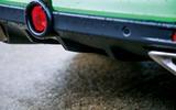 Vauxhall VXR8 GTS-R rear diffuser