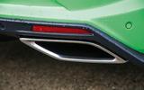 Vauxhall VXR8 GTS-R rear exhaust