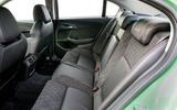 Vauxhall VXR8 GTS-R rear seats