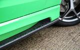 Vauxhall VXR8 GTS-R side sills