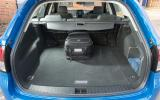 Vauxhall VXR8 Tourer boot space