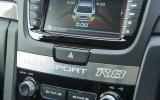 Vauxhall VXR8 Tourer centre console