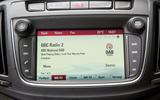 Vauxhall Zafira Tourer IntelliLink infotainment system