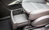 Vauxhall Zafira Tourer under seat storage
