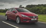 Vauxhall Astra 2019 road test review - action