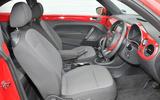 Volkswagen Beetle interior