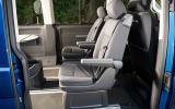 Volkswagen Caravelle rear seating