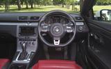 Volkswagen CC dashboard