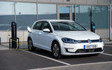 Volkswagen e-Golf charging