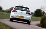 Volkswagen e-Golf rear cornering