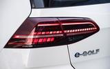Volkswagen e-Golf rear LED lights