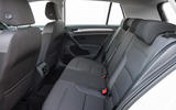 Volkswagen e-Golf rear seats