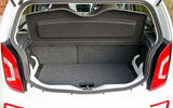 Volkswagen e-Up boot space