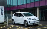 Volkswagen e-Up recharging