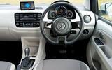 Volkswagen e-Up dashboard