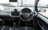 Volkswagen e-Up dashboard