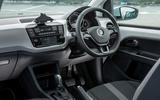 Volkswagen e-Up interior