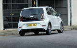 Volkswagen e-Up rear cornering