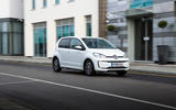 Volkswagen e-Up side profile