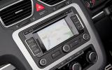 Volkswagen Eos infotainment system