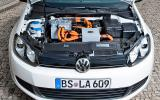 Electric VW Golf: new pics
