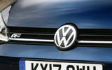 Volkswagen Golf bonnet badging