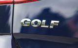 Volkswagen Golf boot badging