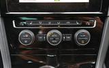 Volkswagen Golf climate controls