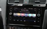 Volkswagen Golf DAB radio