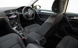 Volkswagen Golf dashboard