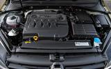 2.0-litre Volkswagen Golf diesel engine