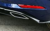 Volkswagen Golf exhaust trim