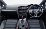 Volkswagen Golf GTD dashboard