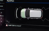 Volkswagen Golf GTD infotainment system