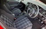 Volkswagen Golf GTD interior
