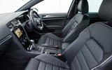 Volkswagen Golf GTD interior
