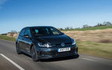 Volkswagen Golf GTD on the road