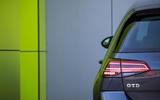 Volkswagen Golf GTD rear LED lights
