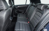 Volkswagen Golf GTD rear seats