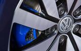 Volkswagen Golf GTE blue brake calipers